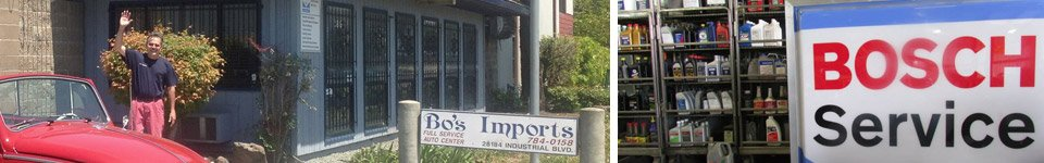 Bo's Imports Auto Repair Services